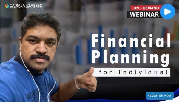 On Demand - Webinar on Financial Planning for Individuals cover