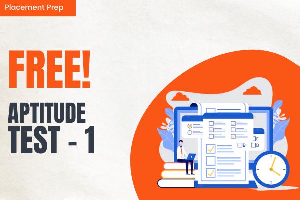 Aptitude Test 1 cover