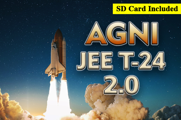 JEE T-24 AGNI 2.0 for Class 10 Integrated. cover