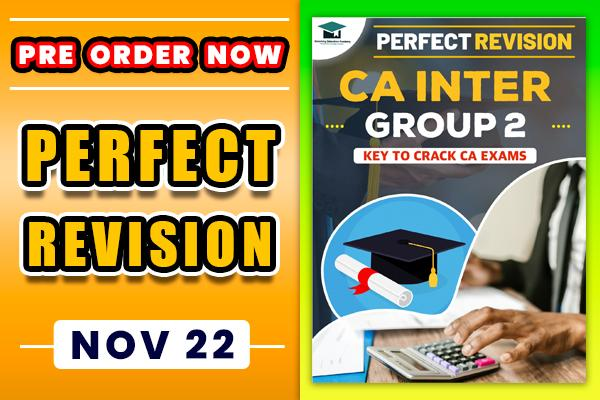 Perfect Revision : CA Inter Group 2 Revision Book (Notes) cover