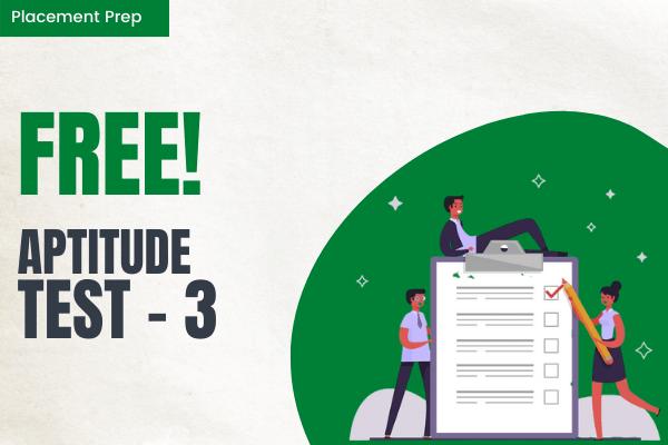 Aptitude Test 3 cover