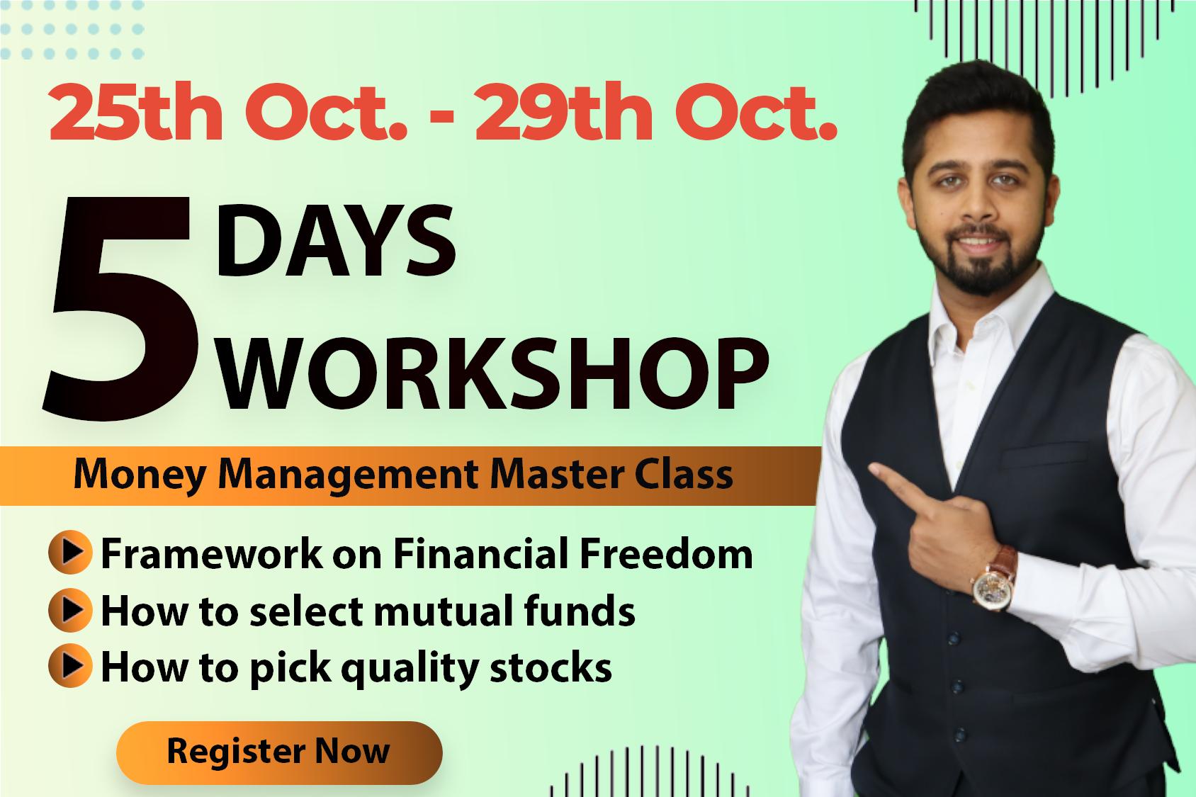 Batch 1: 5 Day Money Management Masterclass cover