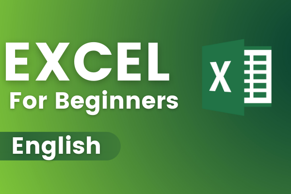 Microsoft Excel For Beginners Online Course - English cover