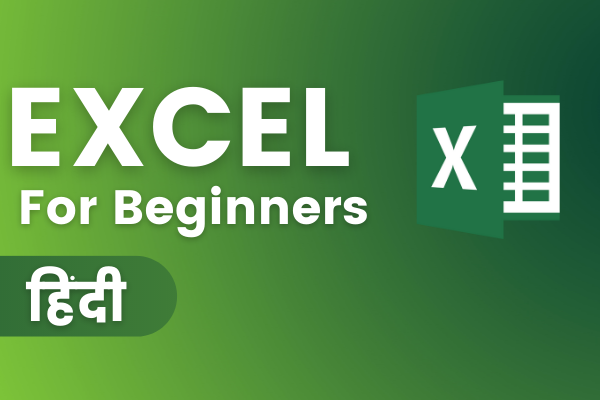 Microsoft Excel For Beginners Online Course - Hindi cover