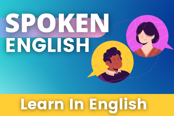 Spoken English For Learners Online Course - English cover