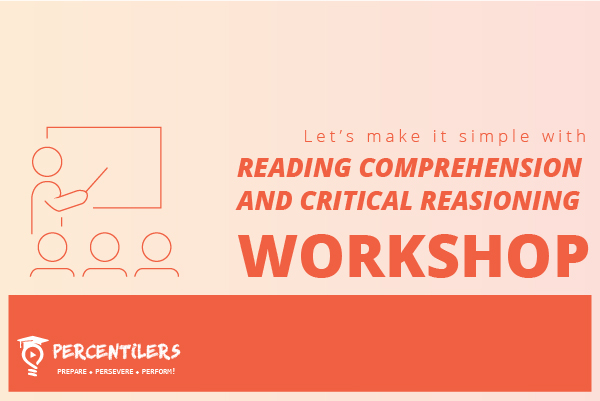 Reading Comprehension & Critical Reasoning Workshop CAT 2021 cover