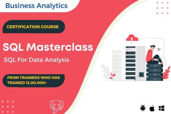 SQL Masterclass: SQL for Data Analytics cover