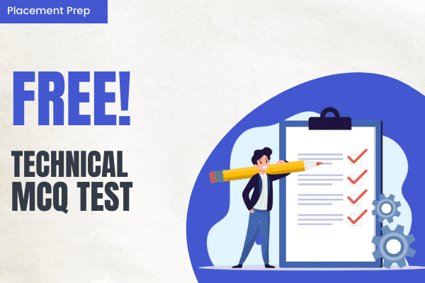 Technical MCQ Test cover