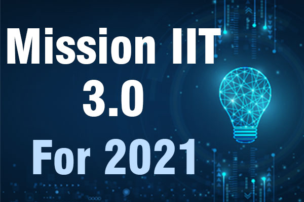 Mission IIT 3.0 For 2021 cover