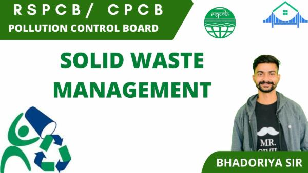 SOLID WASTE MANAGEMENT cover