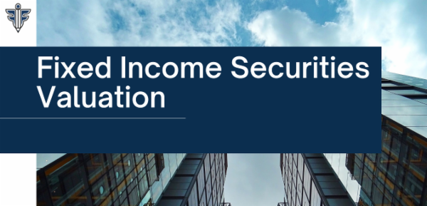Fixed Income Securities Valuation cover