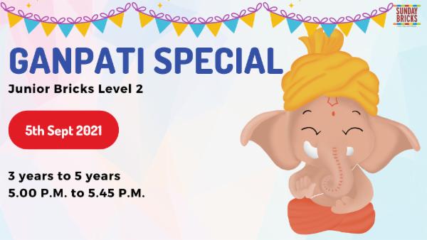 Ganpati Special - Junior Bricks cover
