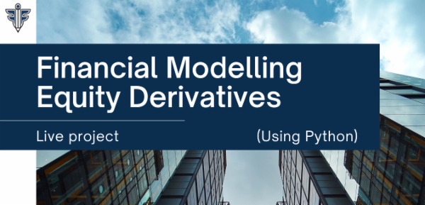 Financial Modelling - Equity Derivatives using Python cover