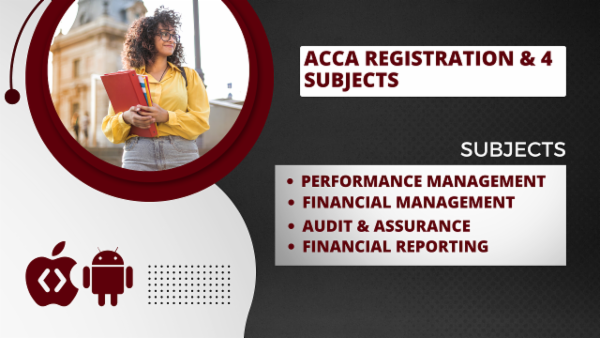ACCA Skills Level with Registration - App Based Classes cover
