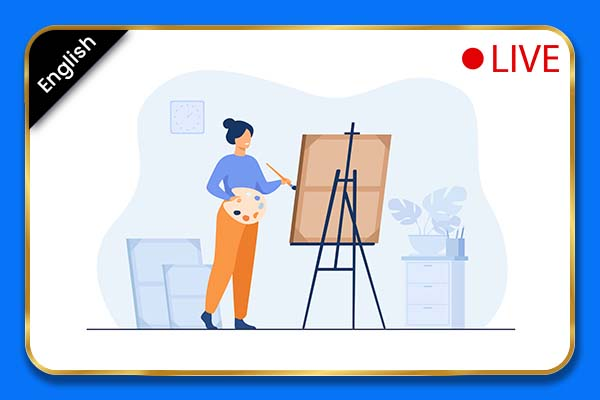 [Live Classes] Acrylic Painting Beginner To Advanced Online Course - English cover