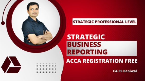 ACCA Strategic Business Reporting with Registration - Google Drive Classes cover