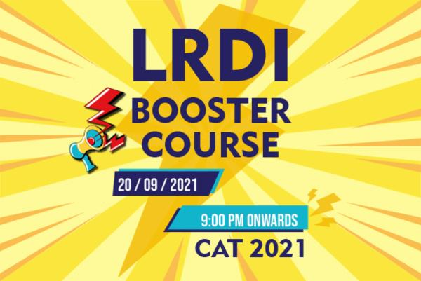 LRDI BOOSTER COURSE FOR CAT 2021 cover