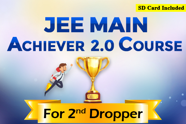 JEE Main Achiever 2.0 Course - For Second Dropper (2022) cover