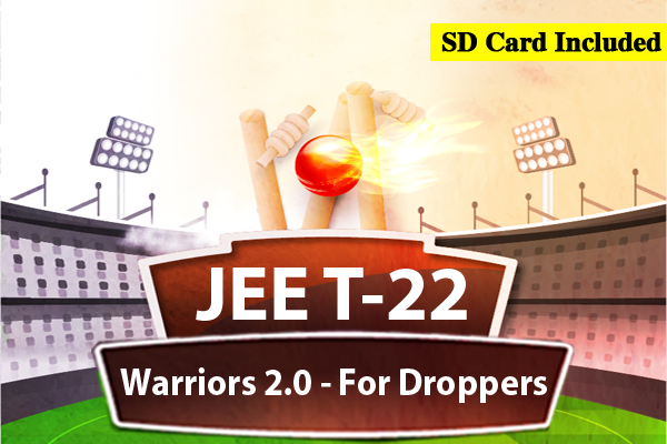 JEE Warrior Course 2.0 - For Droppers (2022) cover