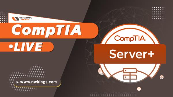 CompTIA Server+ cover