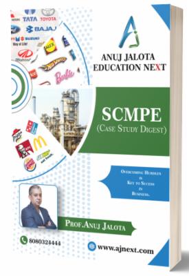CA FINAL - SCMPE - Case Study Digest cover