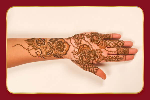 Complete Arabic Mehndi Online Course cover