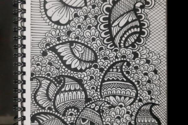 Basics of Floral Doodling cover