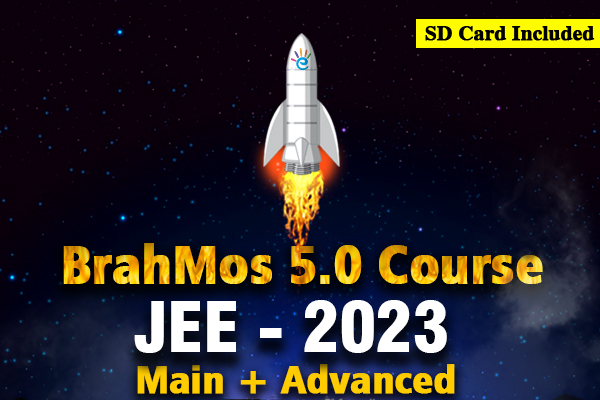 JEE 2023 Main + Advanced BrahMos 5.0 Course cover