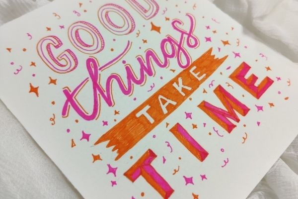 Hand Lettering Workshop - Learn different lettering styles cover