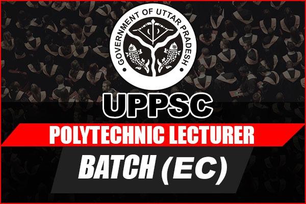 UPPSC Polytechnic Lecturer Batch (ECE) cover