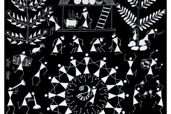 Warli Workshop - Paint a traditional village scene cover