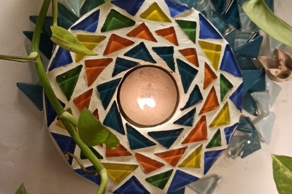 Mosaic Tealight Holders cover