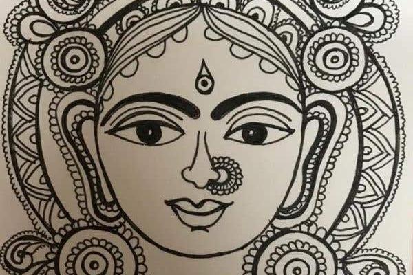 Kalamkari Painting cover