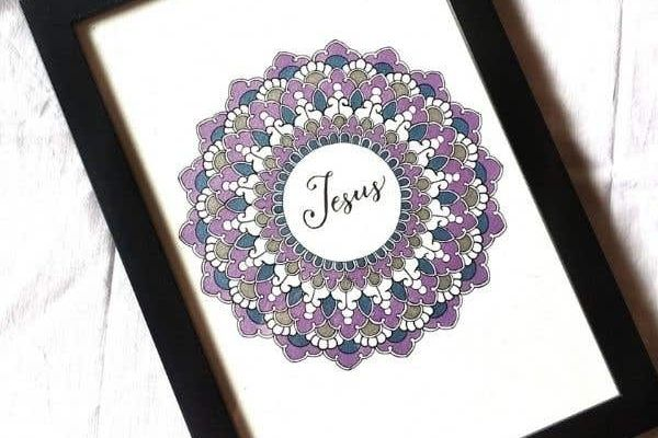 Replay - Inscribed Mandala Making: Using Faux Calligraphy cover