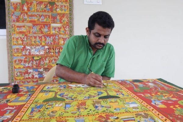 Replay - Cheriyal Painting cover