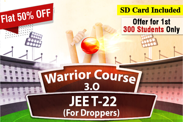 JEE Warrior Course 3.0 - For Droppers (2022) cover