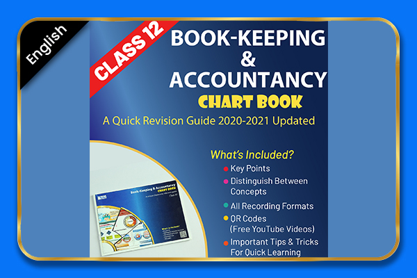 Bookkeeping & Accounting Class 12 Chartbook - English cover