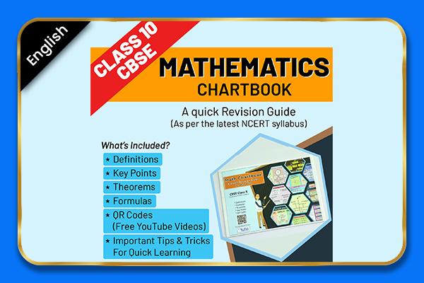 Maths Class 10 CBSE Board Chartbook - English cover