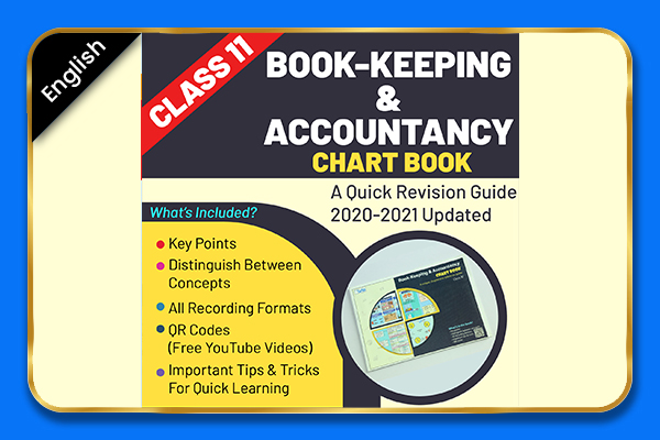 Bookkeeping & Accounting Class 11 Chartbook - English cover
