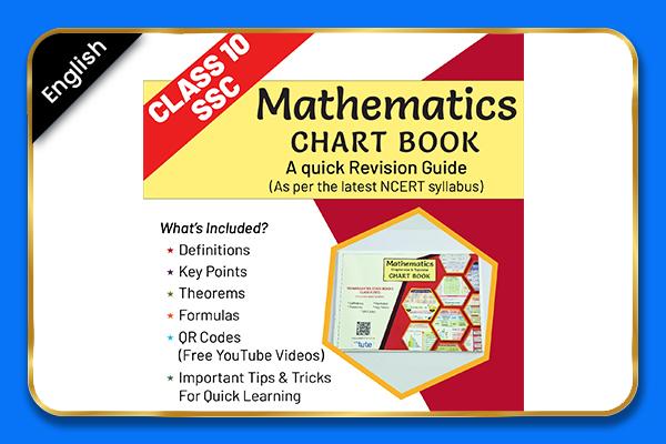 Maths Class 10 Maharashtra Board Chartbook - English cover