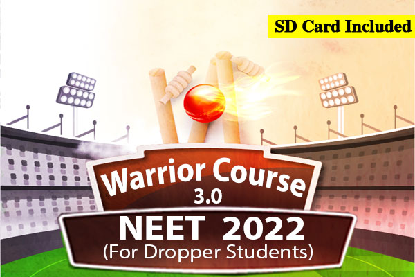 NEET Warrior 3.0 Course - For Droppers (2022) cover
