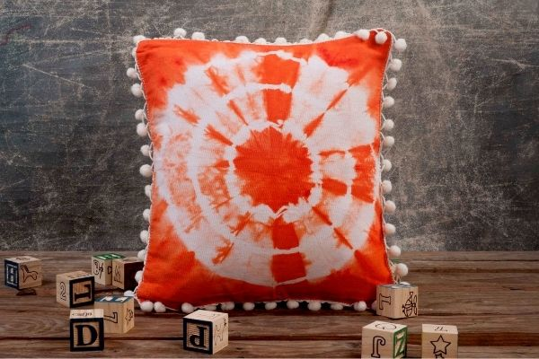 Hand Dye Your Cushion Covers cover