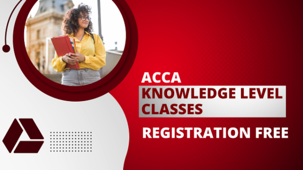 ACCA Knowledge Level with Registration - Google Drive Classes cover