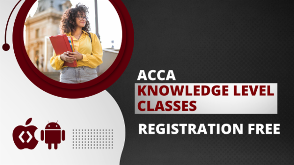 ACCA Knowledge Level with Registration - App Based Classes cover