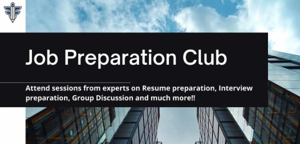 Job Prep Club cover