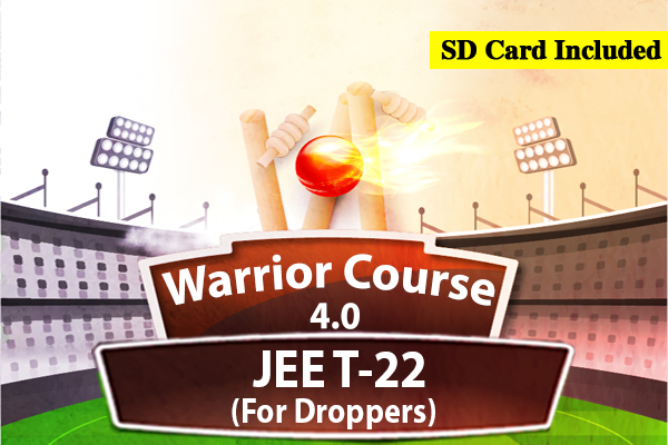 JEE Warrior Course 4.0 - For Droppers (2022) cover
