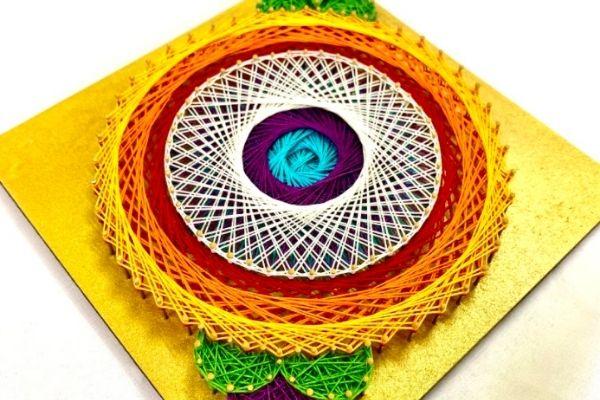 Replay - Rangoli String Art Making cover